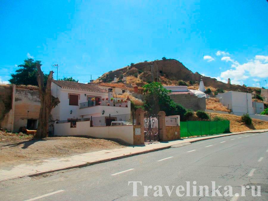 Гуадикс: район пещер