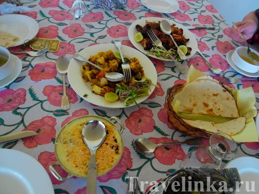 Еда в Маунт-Абу