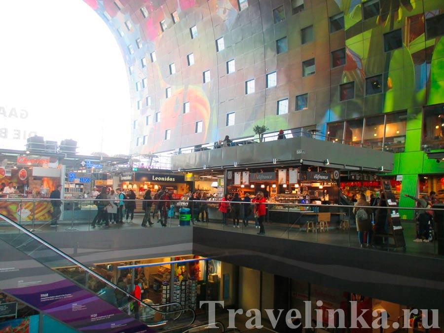 Рынок Роттердам Нидерланды