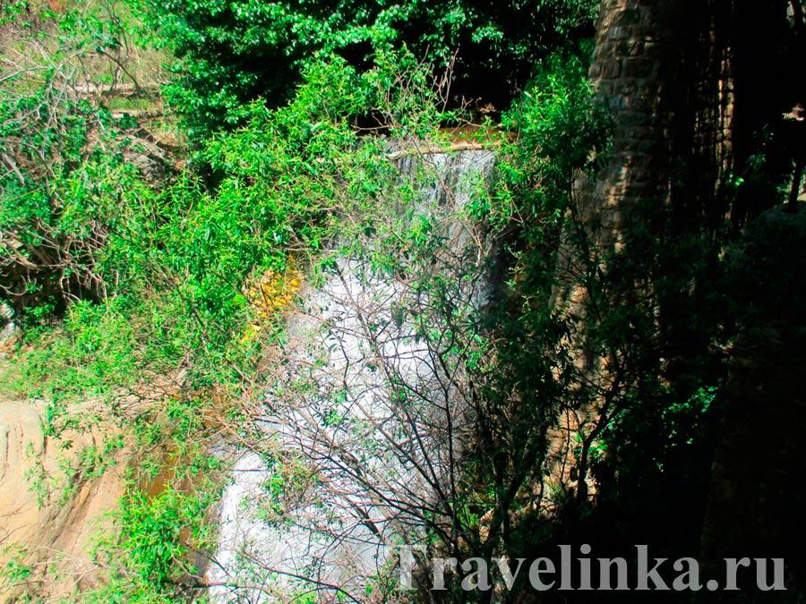 Сьерра де Гадор водопад