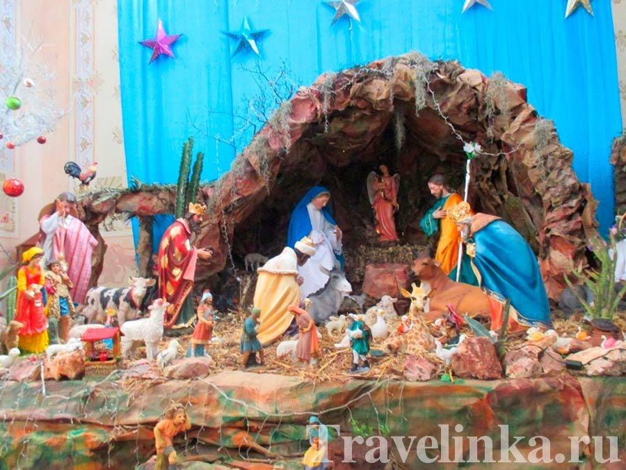 Сценки Рождения Христа