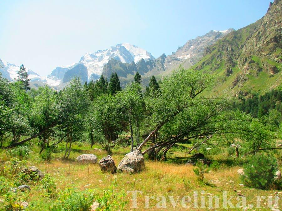 Гора Уллу-Тау и ущелье Адыр-Cу