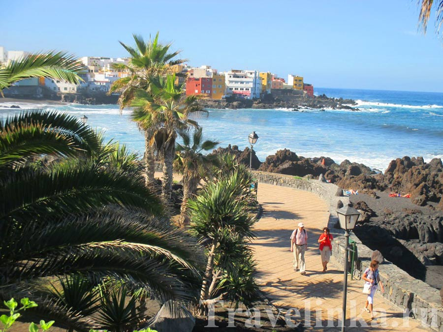 Пляж Playa JardinТенерифе
