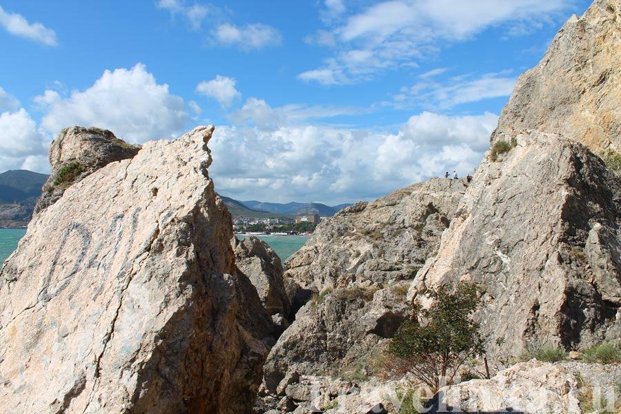 гора Алчак в Судаке
