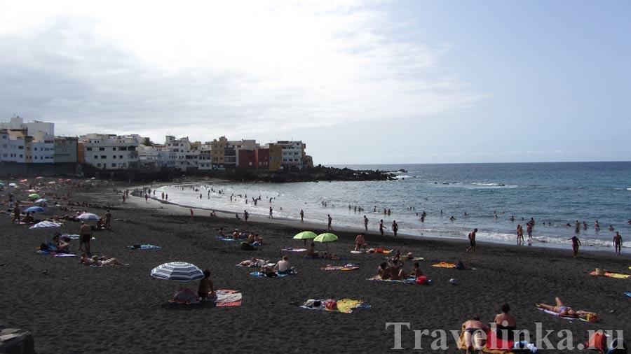 Пляж Тенерифе