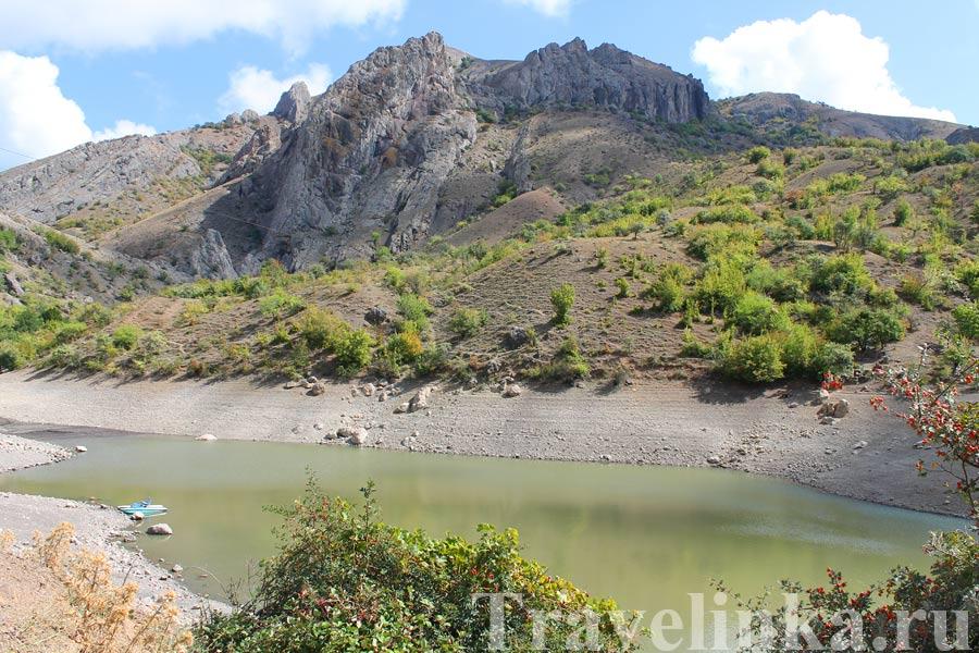 Зеленогорье горное озеро