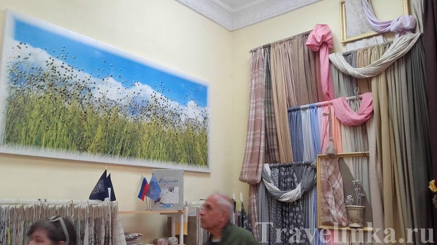 льняной завод Костромы