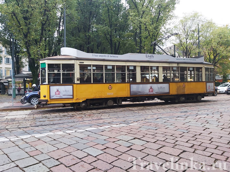 Оранжевые трамваи