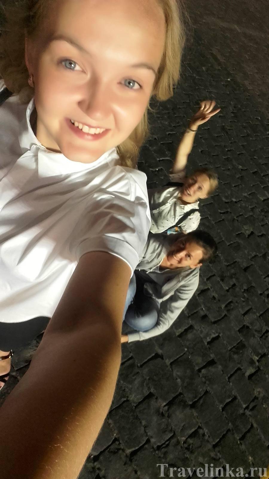 гуляния по Красной площади