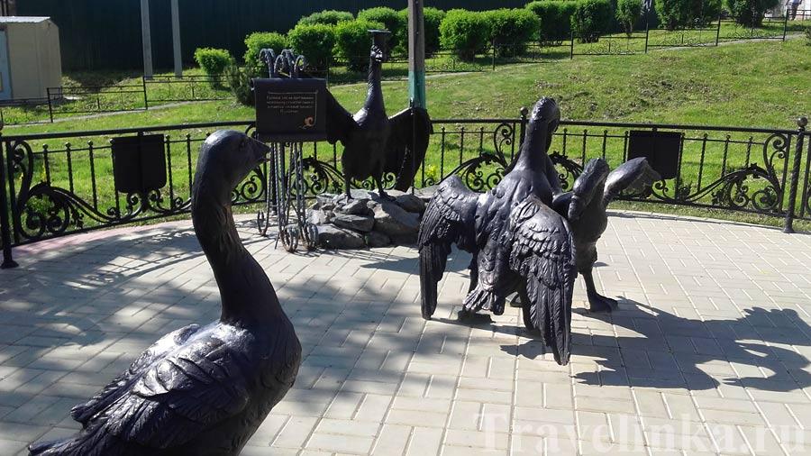 Памятник гусиным боям