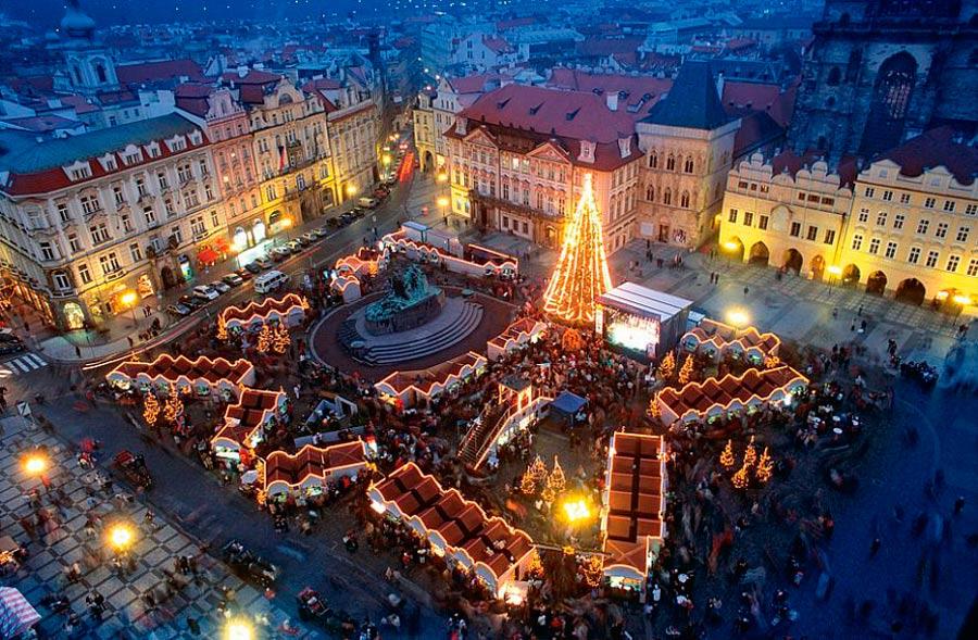 Туры в Прагу в декабре 2018