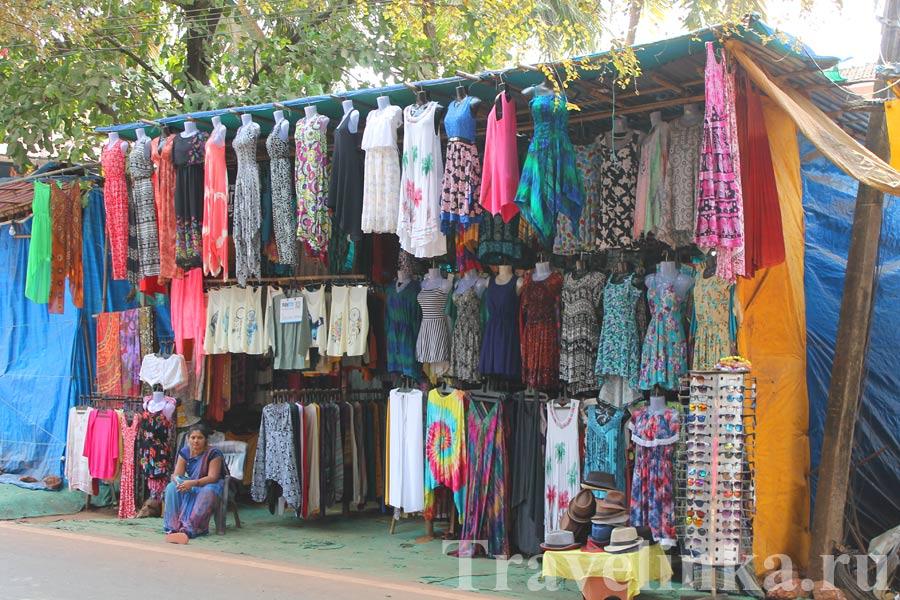 Пляж Бамболим Гоа Индия