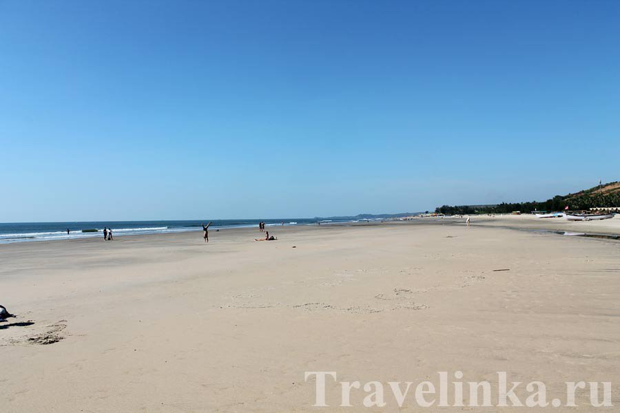 Пляж Дона Паула в Гоа