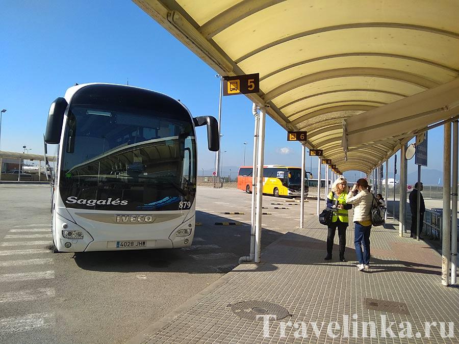аэропорт жирона испания автобус