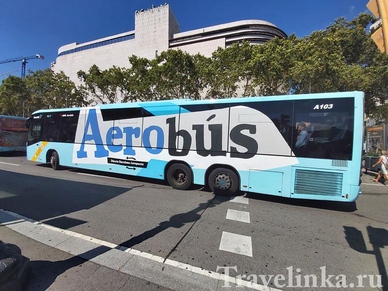 Автобус в Барселоне