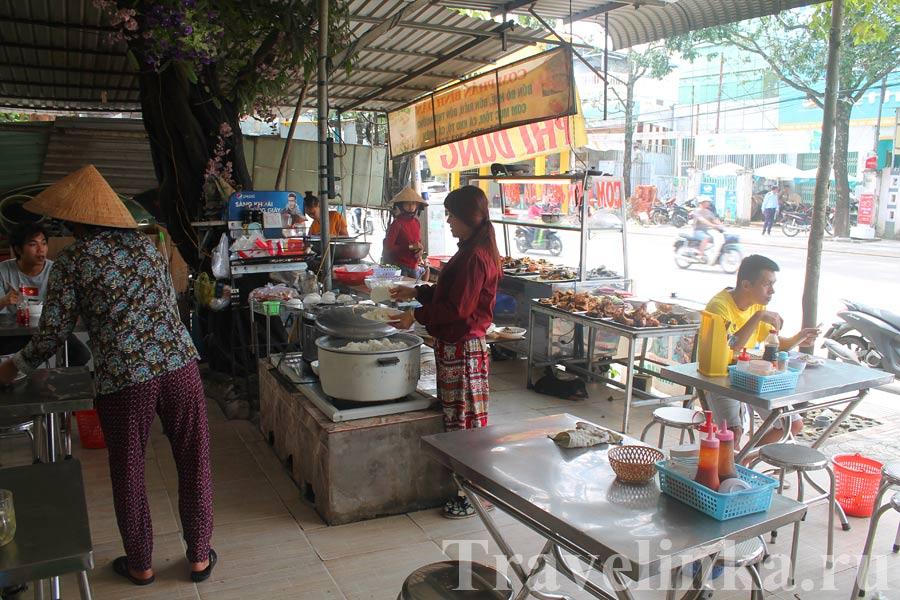 еда в Нячанге Вьетнам