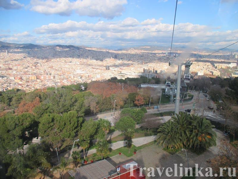 Барселона канатная дорога порт