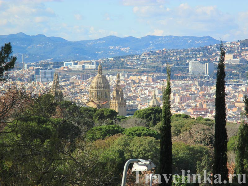канатная дорога Монжуик Барселона