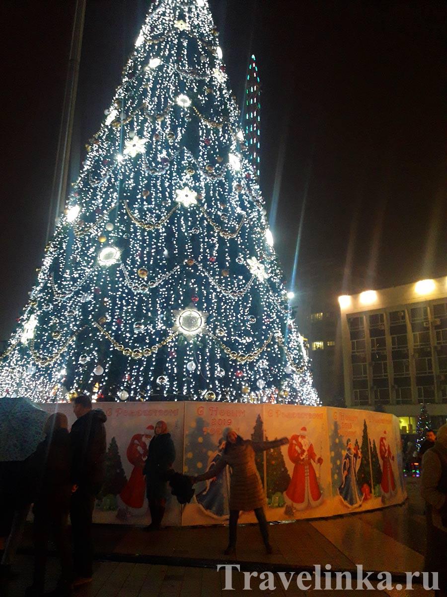 Краснодарский край в январе