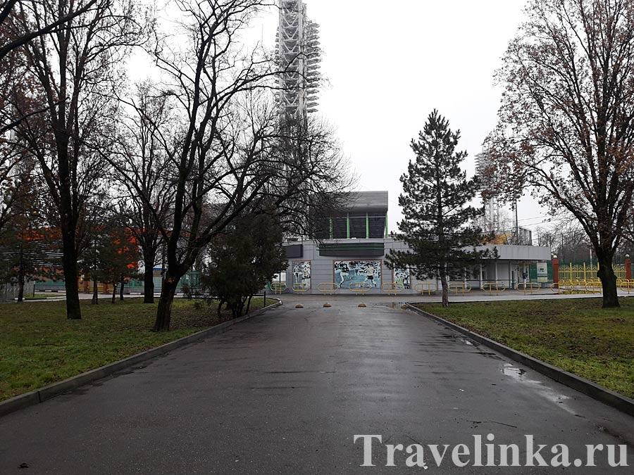 Территория стадиона Кубань