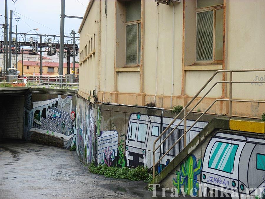 граффити Сербер