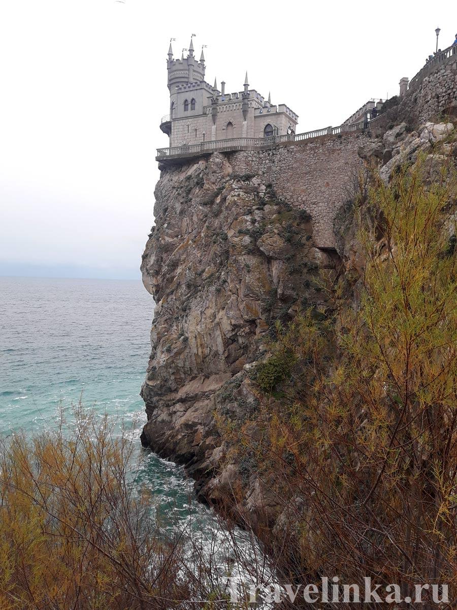Ялта Крым в январе
