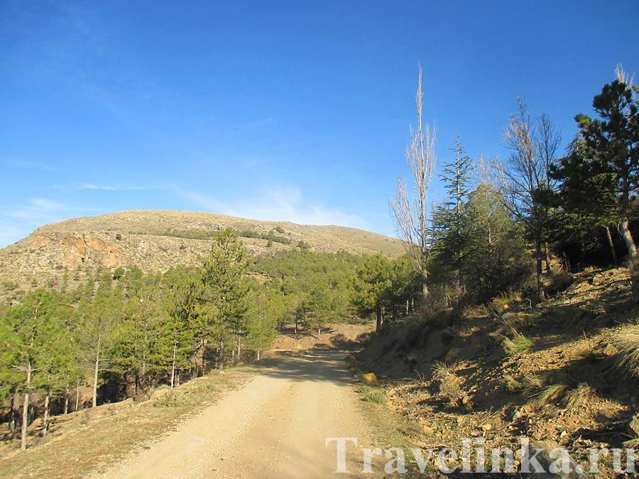 Ла Сьерра де Филабрес горы Альмерии