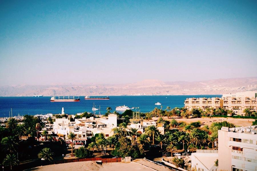 Курорт Иордании Акаба