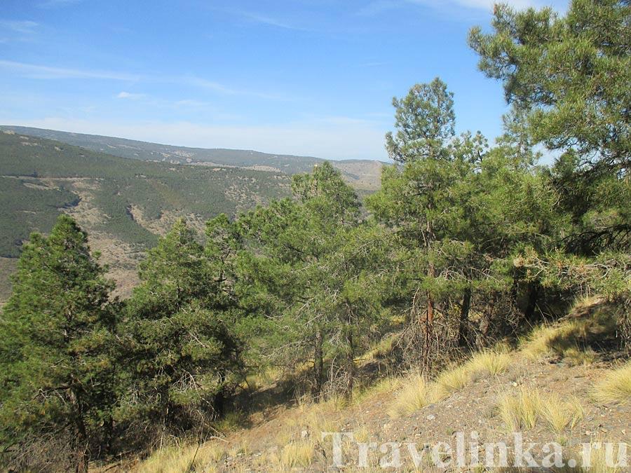 фото горного хребта La Sierra de Filabres