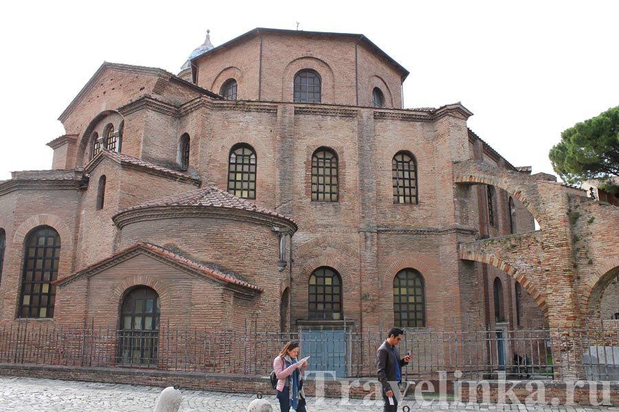 Базилика Сан-Витале Равенна