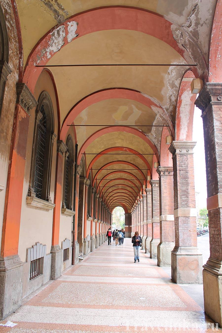 Портики в Болонье