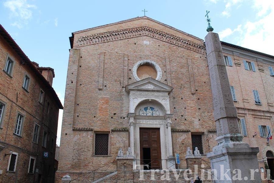 Церковь Сан-Доменико Урбино Италия