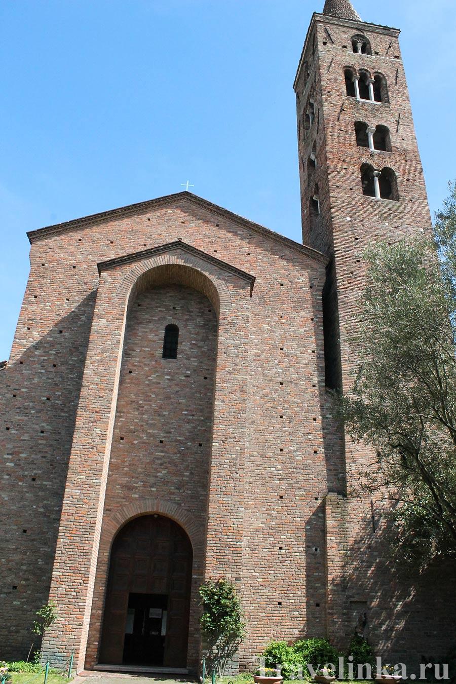 Церковь Святого Иоанна-евангелиста в Равенне