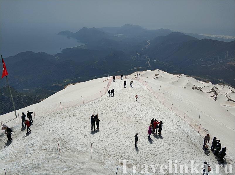 Гора Тахталы в Кемере