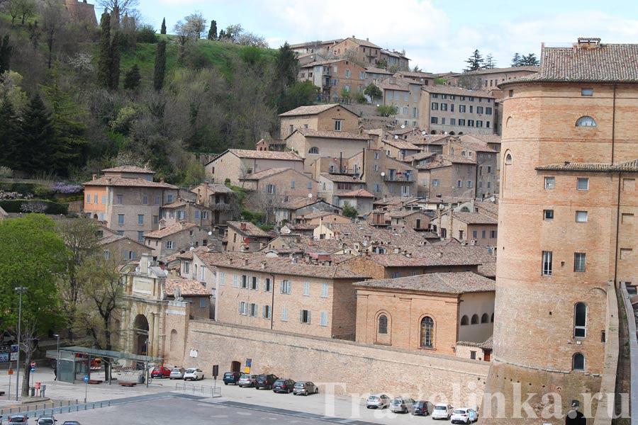 Урбино Италия достопримечательности