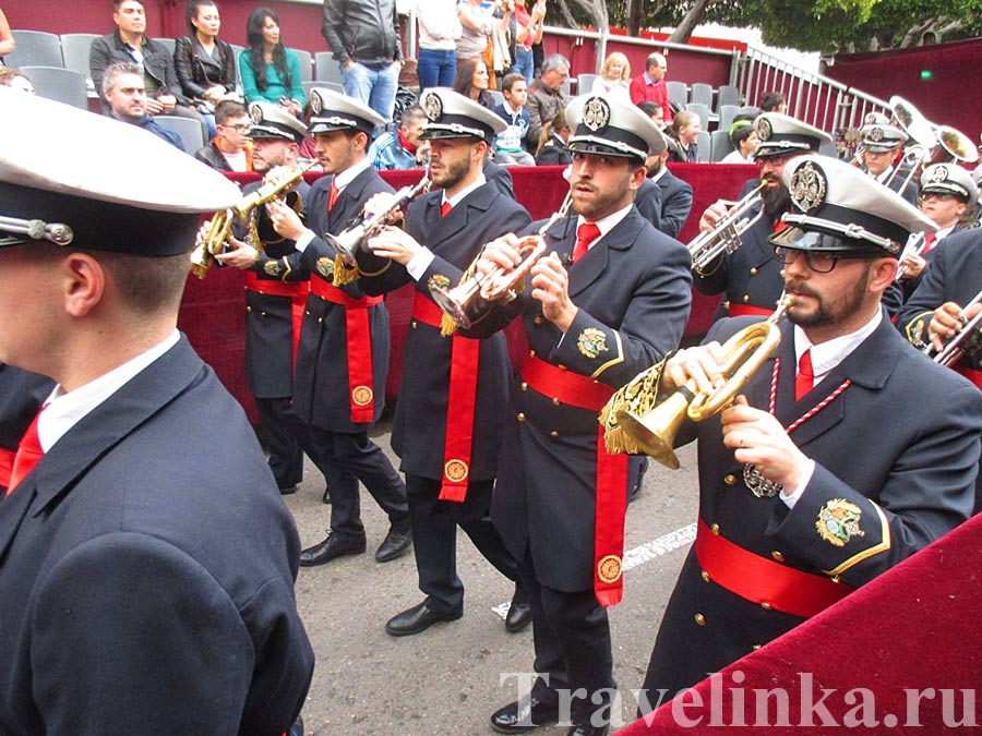 Духовой оркестр на Semana Santa