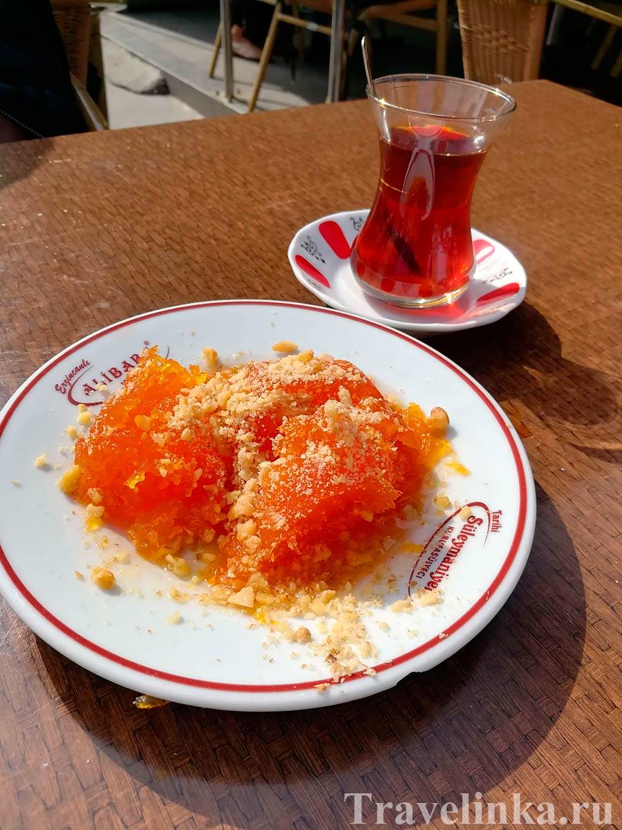Кабак Татлысы в кафе Ali Baba