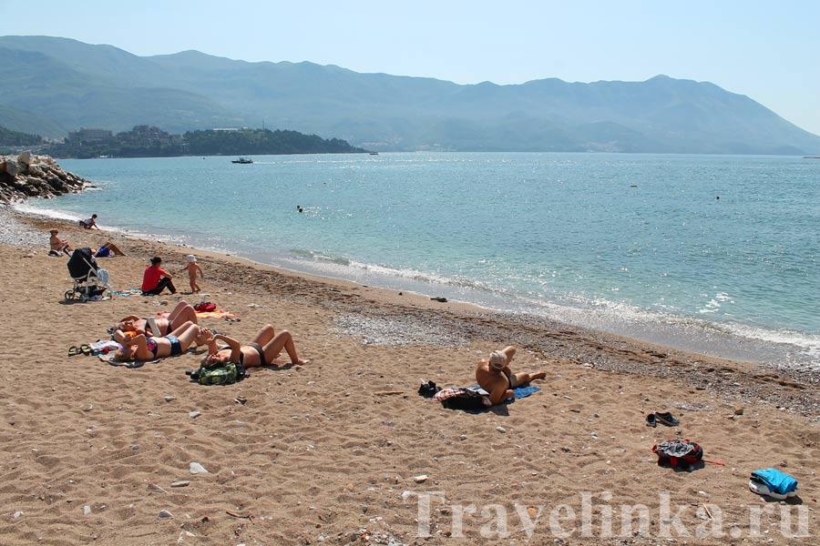 Пляж Пизана Будва