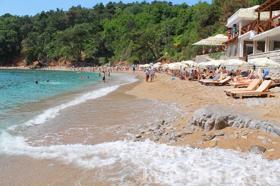Пляжи Будвы и Будванской Ривьеры