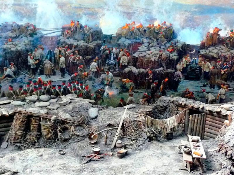 Панорама Севастопольской обороны