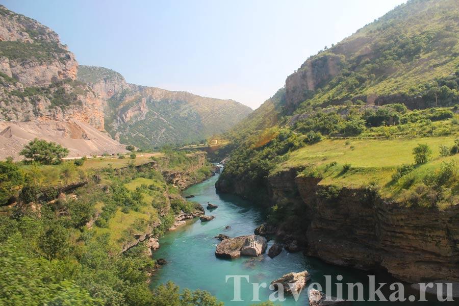 Горы и каньоны Черногории