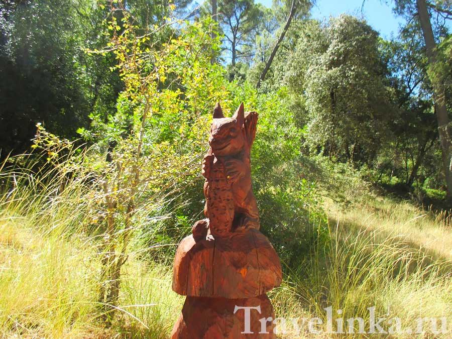 охотничий парк Кольядо дель Альмендраль