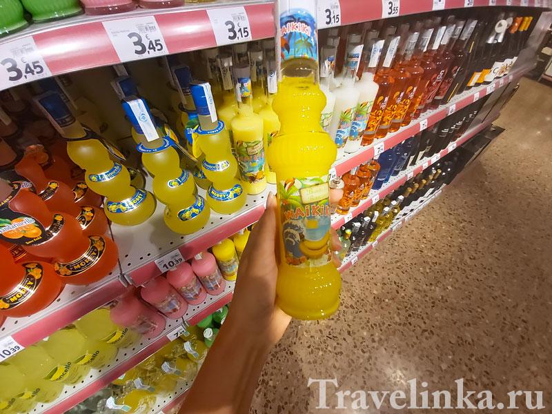 алкогольные напитки Испании