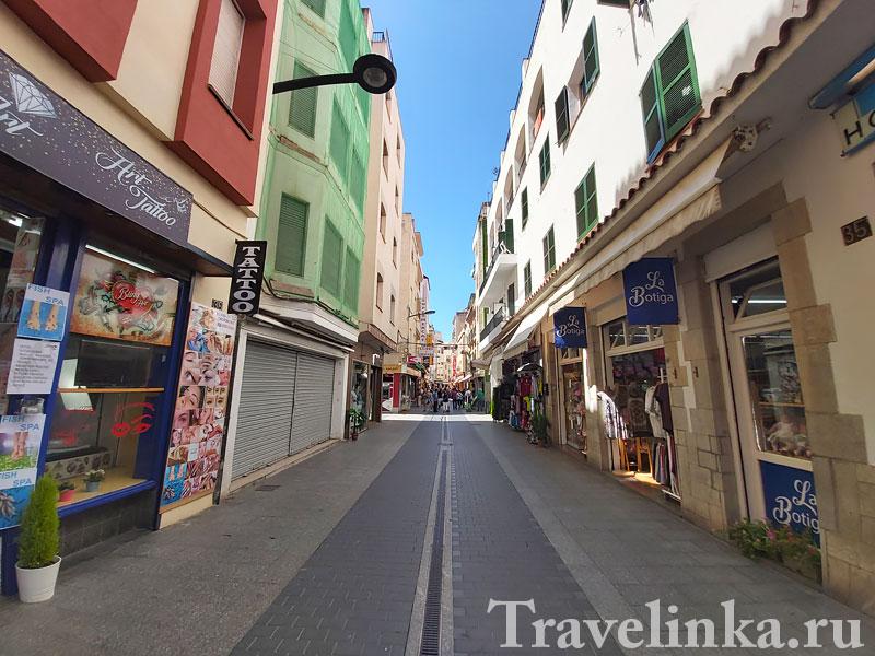 Ллорет-де-Мар в Испании