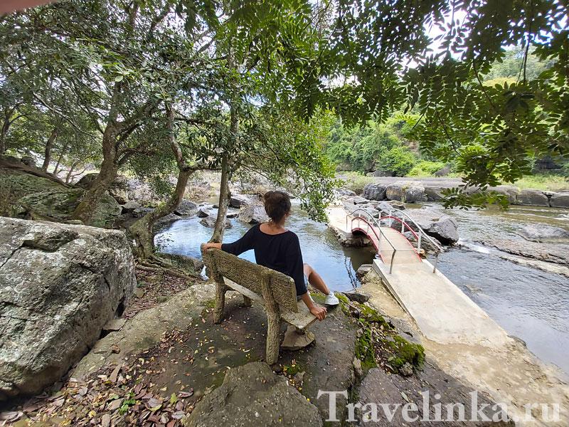 Водопад Понгур. Экскурсия из Нячанга в Далат