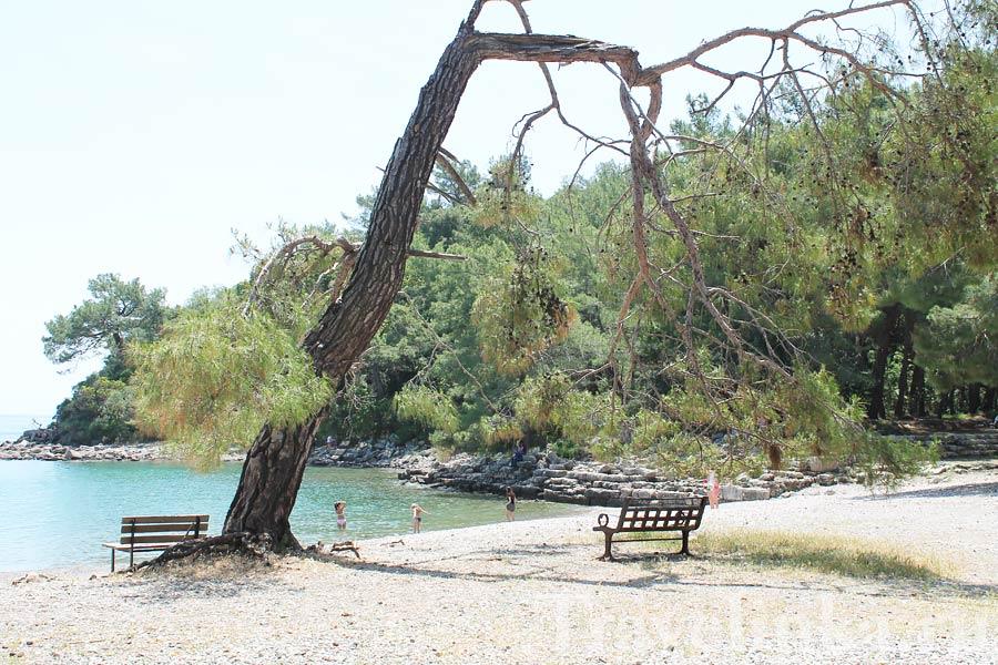 Пляж Фазелис