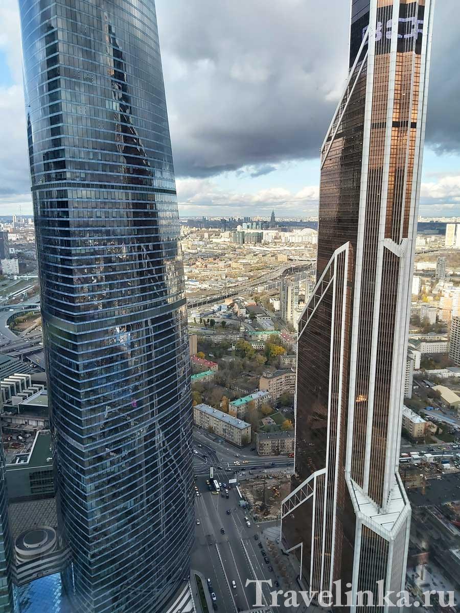 Смотровые площадки в Москва Сити
