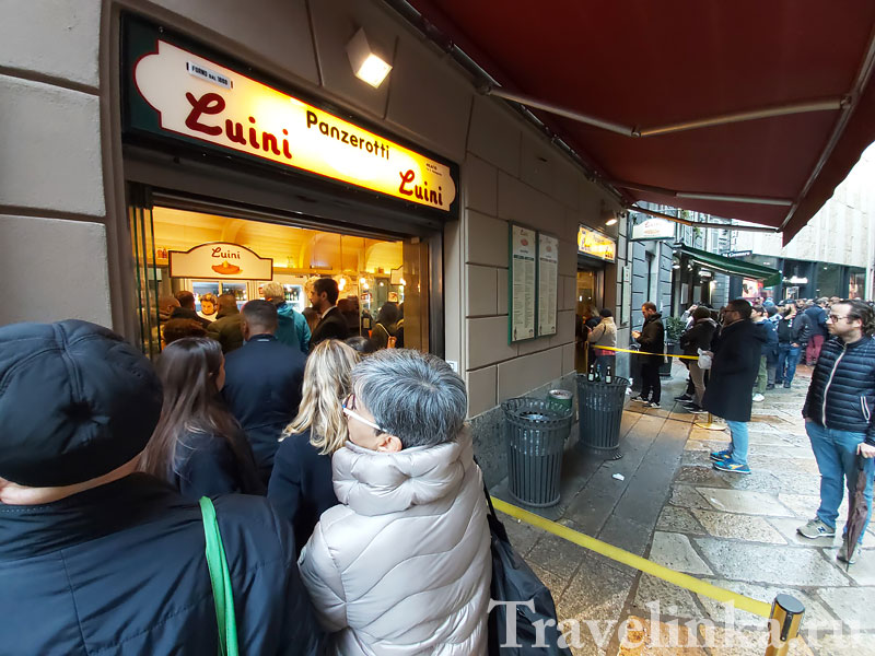 Знаменитая пирожковая в Милане