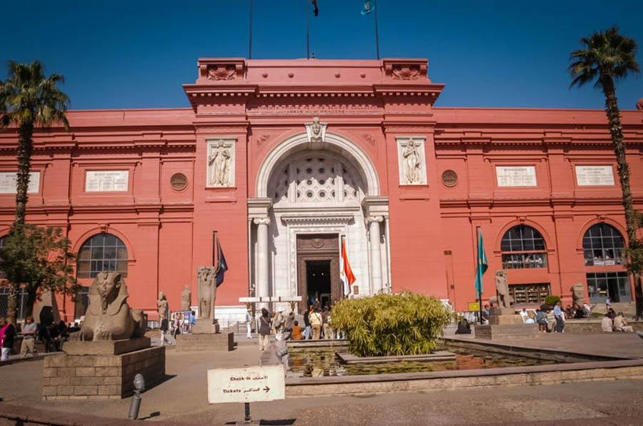 Каирский музей на площади Тахрир