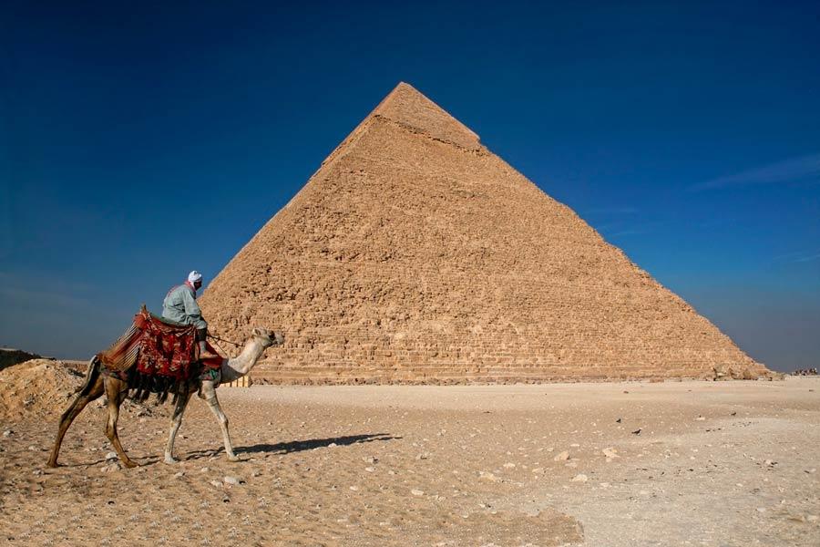Пирамиды рядом с городом Гизы